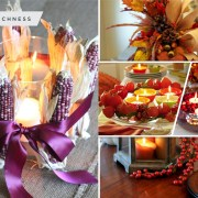 30 ideas to use candles as your fall home decoration2