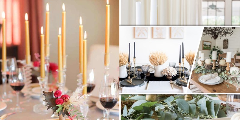 40 candlestick decorations this autumn2