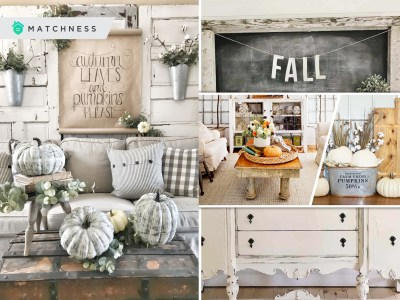 Combining farmhouse and fall decor concept with these 45 ideas2