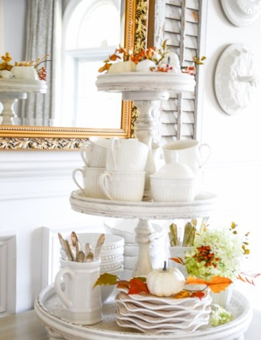 Fall-tiered-tray-in-dining-room-stonegableblog-2