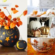 Presenting the pumpkin to your home decoration with these 50 ideas2