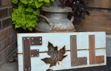 Wooden-fall-sign