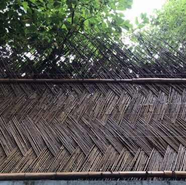 Braided-design-ideas-for-bamboo-fence