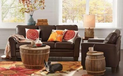 Decoracion-sala-de-estar-naranja