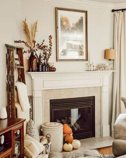 Diy-fireplace-mantel-decor-ideas-carriedawayhome