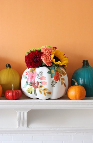 Diy-floral-pumpkins-for-fall-and-halloween-3