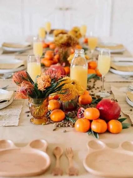 Edible-centerpiece-thanksgiving-table-ideas