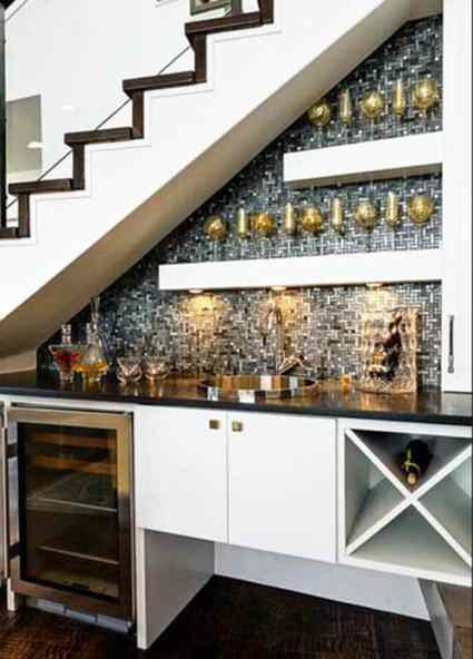 Home-bar-under-staircase