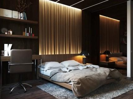 Indirect-lighting-on-textured-wall