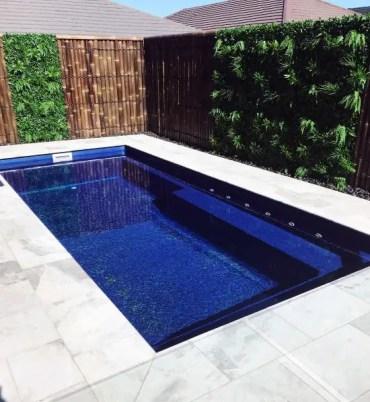Pool-backyard-bamboo-fence-design