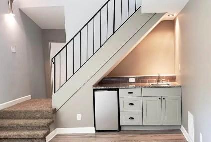 Small-kitchen-under-staircase