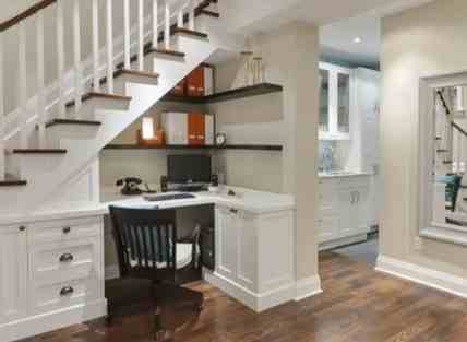 Under-stairs-office-desk-with-built-in-storage-cabinet
