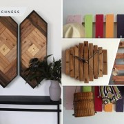25 wood craft products to beautify your home decoration2