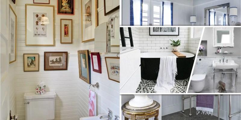 55 ways to present art to your bathroom2