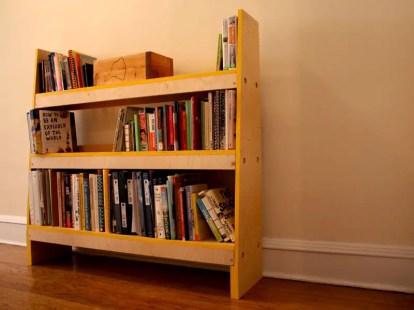 Knock-down-shelves