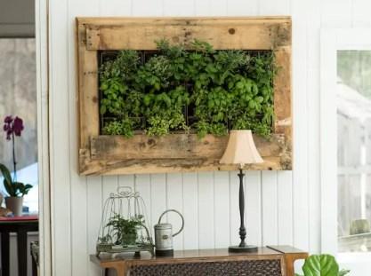 Williams-Sonoma-inspirierte-Kräuterwand-Pflanzgefäß