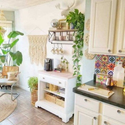 A-boho-chic-kitchen-spruced-up-with-macrame-jute-wicker-and-a-colorful-tile-backsplash-for-a-free-spirited-feel