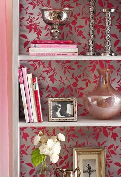 Bookshelf-with-wallpaper