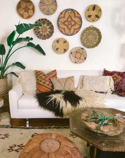 Bring-afrikanische-und-marokkanische-Wandkunst-für-Boho-Interieur