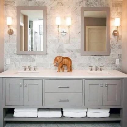 Four-wall-sconces-traditional-cool-bathroom-lighting-design-ideas
