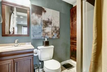 Gedeckte-Farbe-kleine-Badezimmer-Farbideen-2