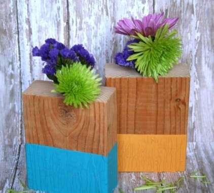 Vases-made-from-wood-blocks