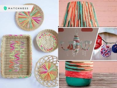 Diy yarn ideas for home decoration