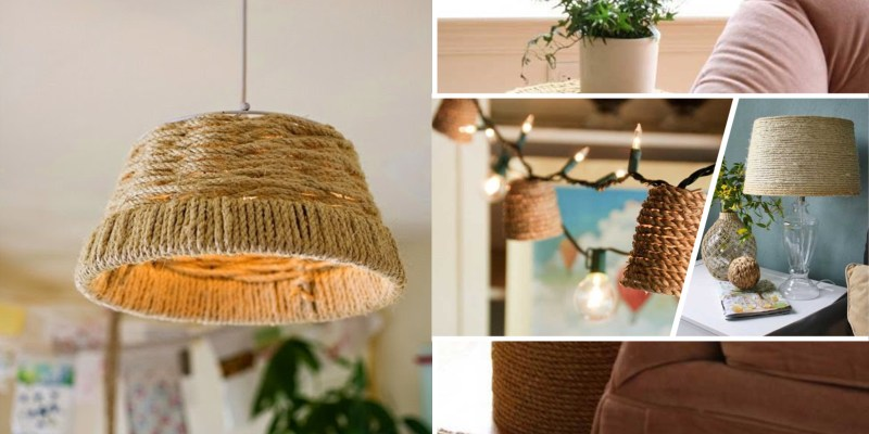 Decoration projects by using the rope2