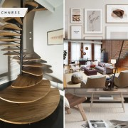 Earthy yet modern home decorations
