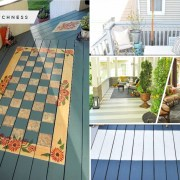 Painted floor ideas for your porch