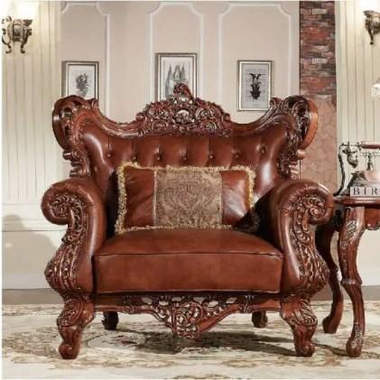 Traditionelle-handgefertigte-Möbel-für-antikes-Wohnzimmer
