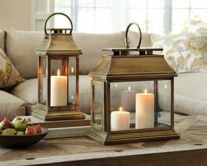 Brass-lanterns-coffee-table-decor