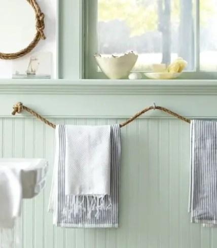 Seil-Handtuchhalter
