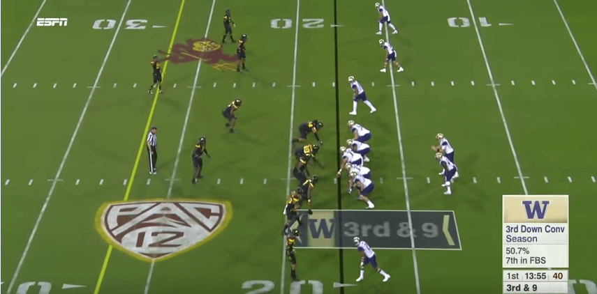MQ Film Study – Learning Stress Coverage (Arizona St. – 2017)