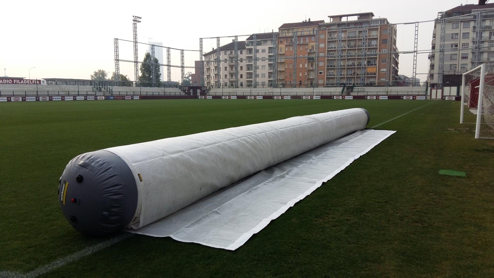 Torino Training Ground, Matchsaver Air Roller Covers