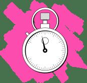Illustration of stopwatch