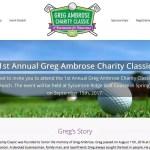 Greg Ambrose Charity Classic