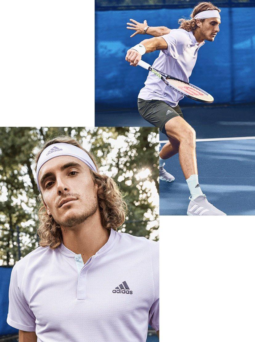 Adidas Prueba Una Tecnologia En Los Pies De Tsitsipas Match Tenis