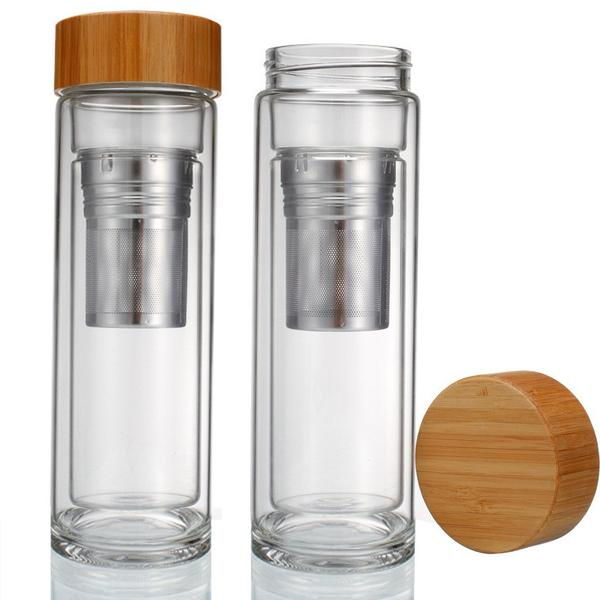 Glass Travel Mug w/ Infuser 1