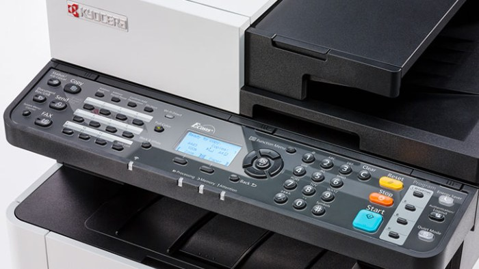 Kyocera ECOSYS M5521CDW kontrolni panel