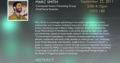 Marc Smith Talk at Purdue