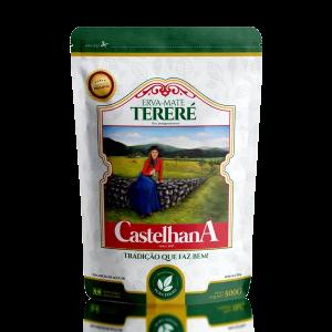 pacote de erva-mate castelhana pura folha premium comprar