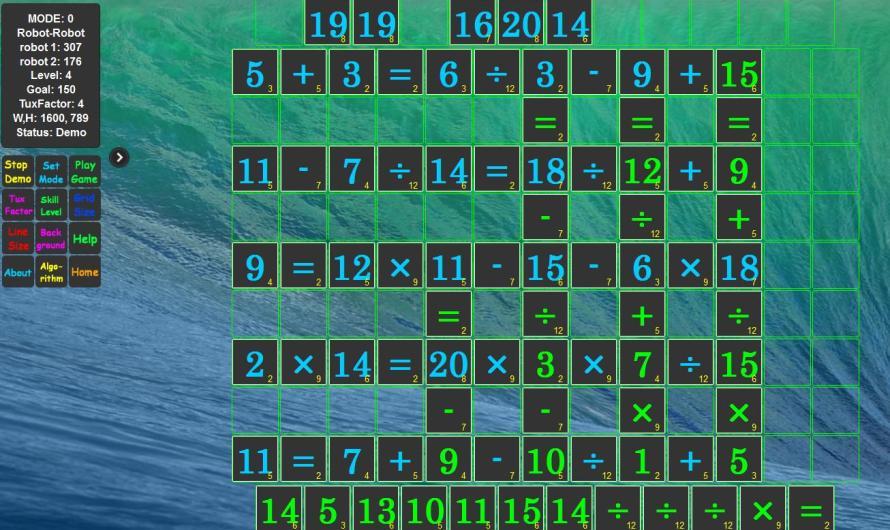 Scrabble Maths, un excelente recurso para #gamificar el trabajo con operaciones combinadas