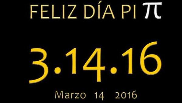 7º aniversario de MatemáTICas: 1,1,2,3,5,8,13,…, – 2,5 millones de gracias y #DiadePi 2016