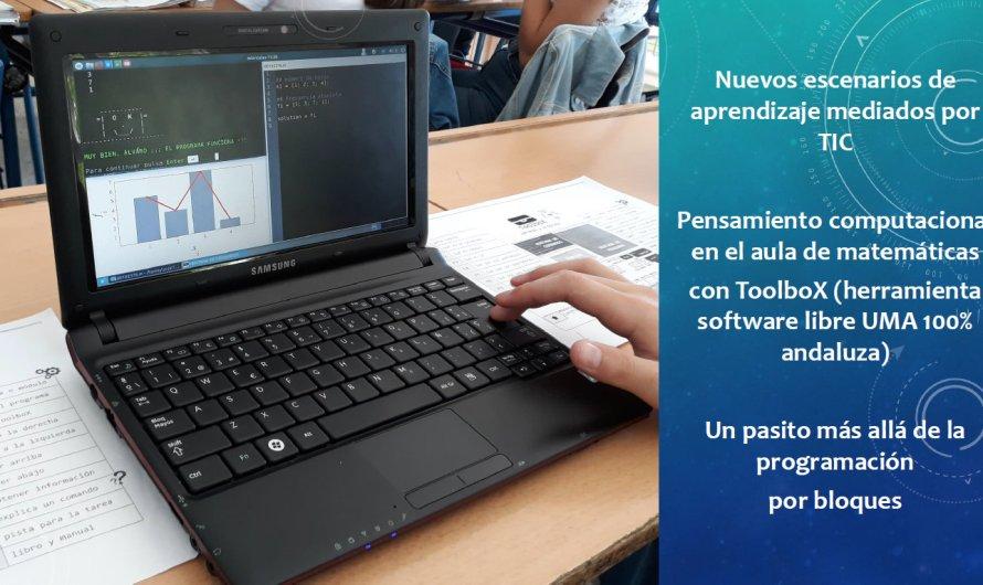 Participación en Proyecto de Investigación Educativa con la herramienta ToolboX para desarrollar el pensamiento computacional en el aula de Matemáticas #STEM