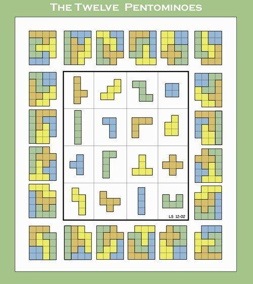 4x4 pentominoes