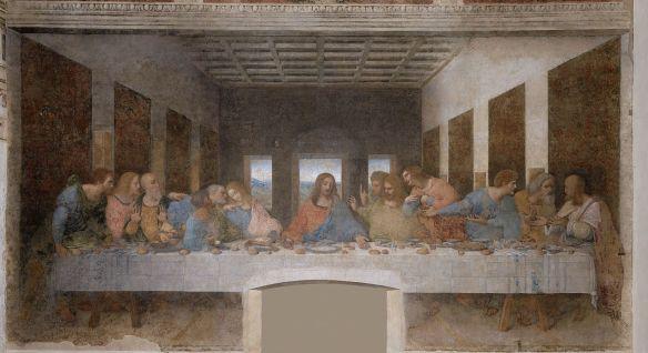 La Última Cena, de Leonardo da Vinci.