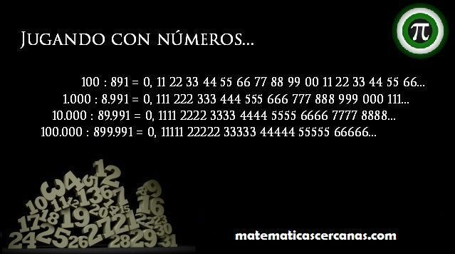 Jugando con números 7