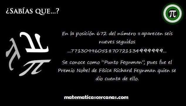 ¿Sabías que...? Curiosidades de π - MatematicasCercanas