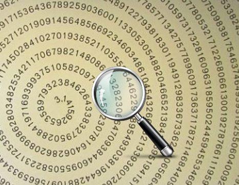 Buscador de números en Pi